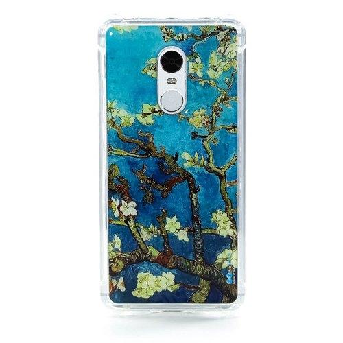 Накладка силиконовая IceTwice Xiaomi Redmi Note 4 Яблоня №503