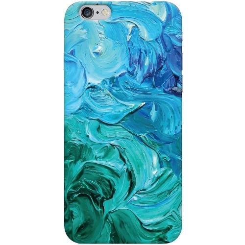 Накладка пластиковая Deppa Art Case iPhone 6/6S Art Волны