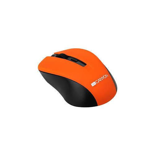 Мышь Canyon CNE-CMSW1 USB беспроводная Orange