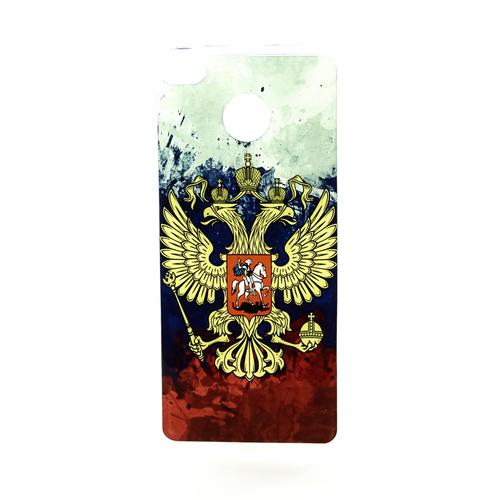 Накладка силиконовая IceTwice Xiaomi Redmi 4X Герб Цветной №1181