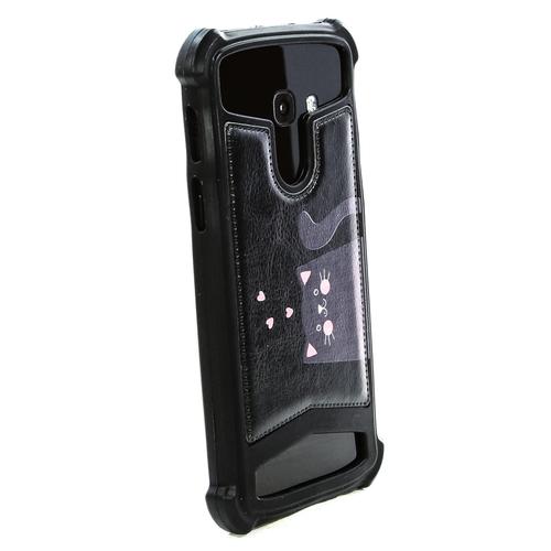 """Универсальная задняя панель Gresso Пушистики-Табби 4,5-4,7"""" Black фото 8"""