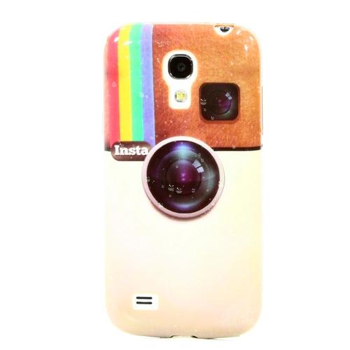 Накладка силиконовая Samsung I9190 Galaxy S4 Mini Insta (SDST)