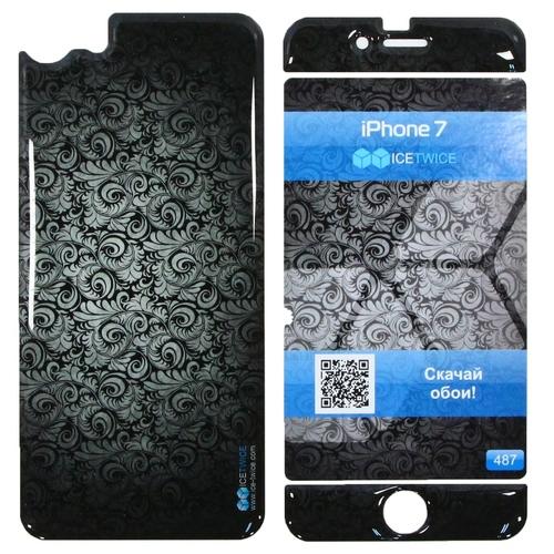 Наклейка силиконовая IceTwice iPhone 7 / iPhone 8 Обои №487