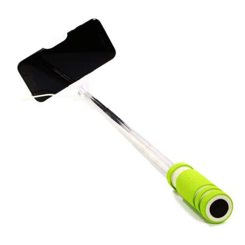 Монопод для селфи Goodcom MINI (со шнурком 3.5mm) Green
