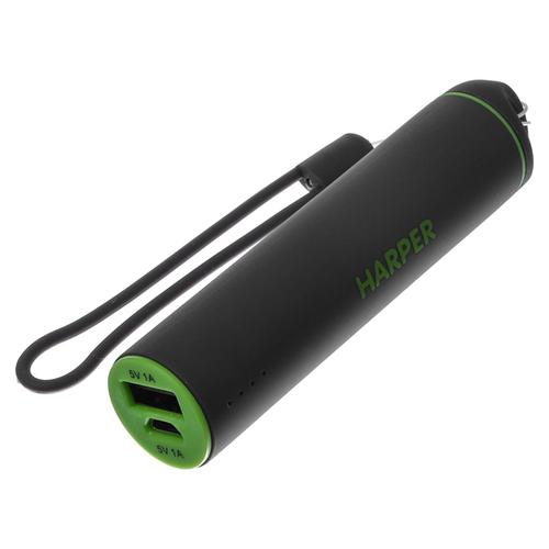 Внешний аккумулятор Harper PB-2602 2200 mAh Green