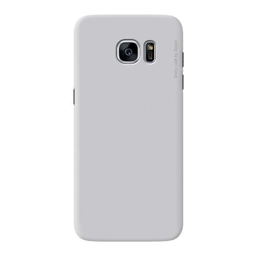 Накладка пластиковая Deppa Air Case Samsung Galaxy S7 Edge Silver