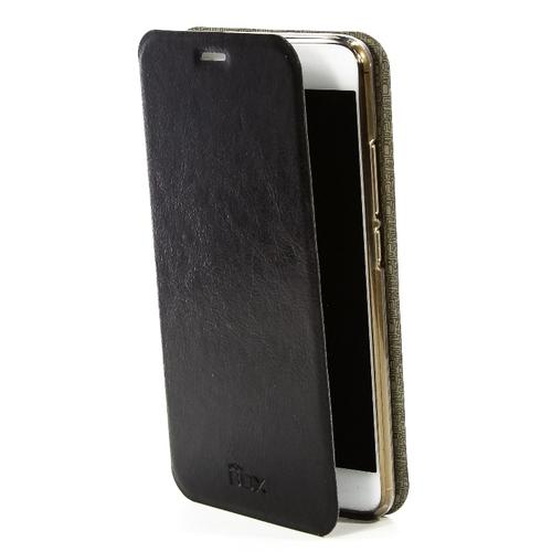 Чехол-книжка skinBox Lux Meizu M3 Note Black