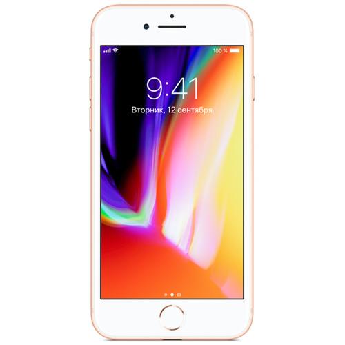 Смартфон Apple iPhone 8 256Gb Gold фото
