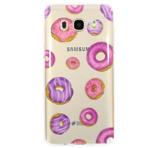 Накладка силиконовая Goodcase Samsung J5 (2016) Пончики