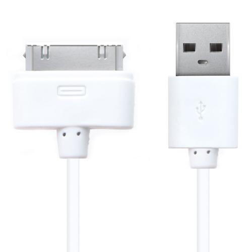 USB кабель Arvy 30-pin 1м White