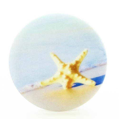 Попсокет для телефона Морская звезда (P104), Goodcom