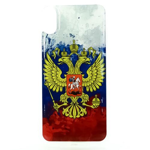Накладка силиконовая IceTwice iPhone X Герб цвет №1181