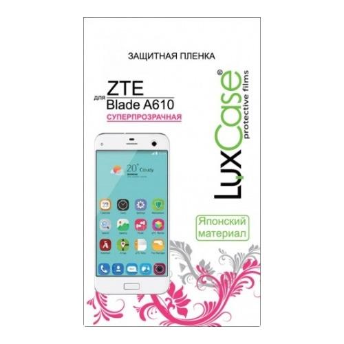 Защитная пленка LuxCase TPU (НА ВЕСЬ ЭКРАН) ZTE Blade A610