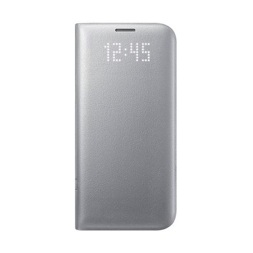Чехол-книжка Samsung LED View Cover Galaxy S7 Edge (EF-NG935PSEGRU) Silver