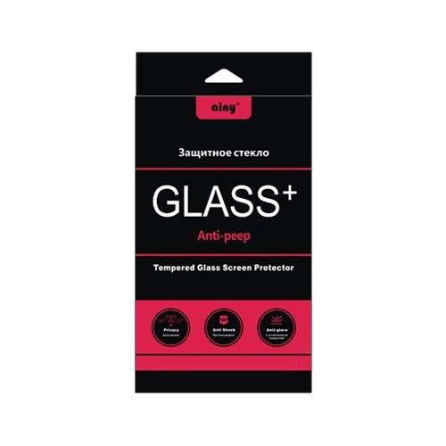 Защитное стекло на iPhone 5/5S Anti Spyware, Ainy,  0.33mm фото