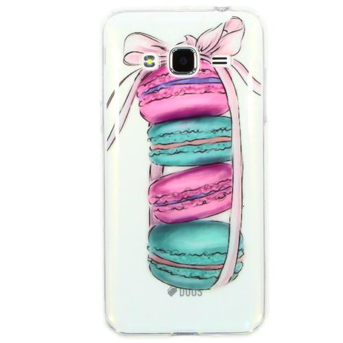Накладка силиконовая Goodcase Samsung J3 (2016) Macarons