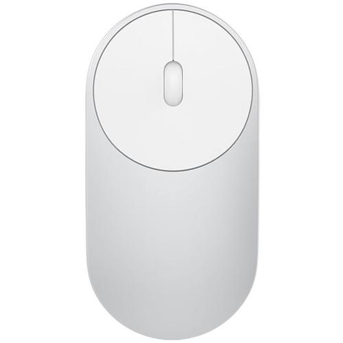 Мышь Xiaomi Mi Portable Mouse XMSB02MW Silver беспроводная фото