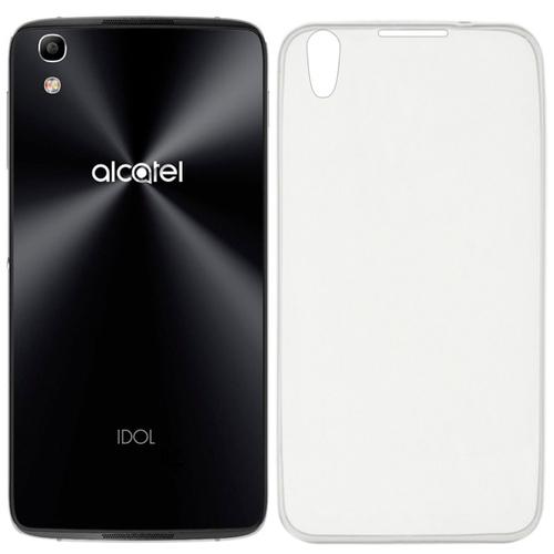 Накладка силиконовая IS Slender Alcatel Idol 4 Clear