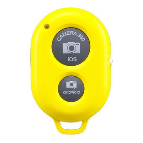 Брелок/пульт Bluetooth для фото Yellow