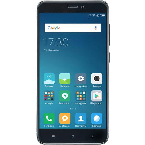 Телефон Xiaomi Redmi Note 4X 3/64Gb Black фото