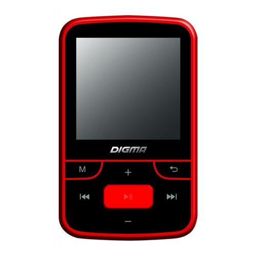 Плеер Mp3 Digma T3 8Gb Red Black