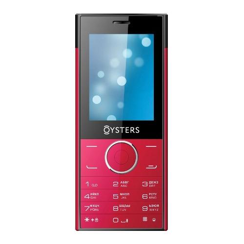 Телефон Oysters Ufa Red