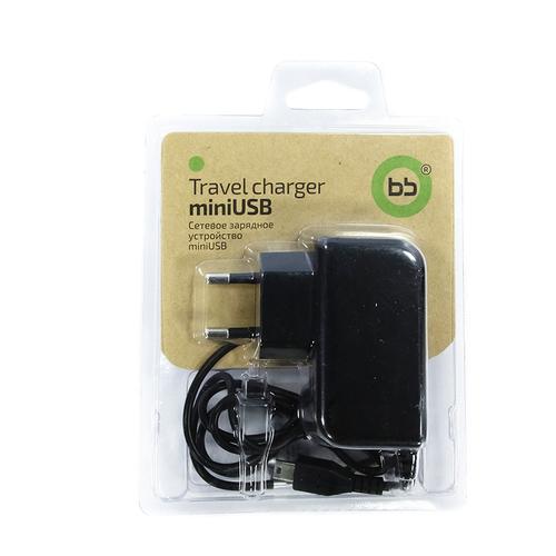 СЗУ BB 003-001 mini USB 1000mAh Black