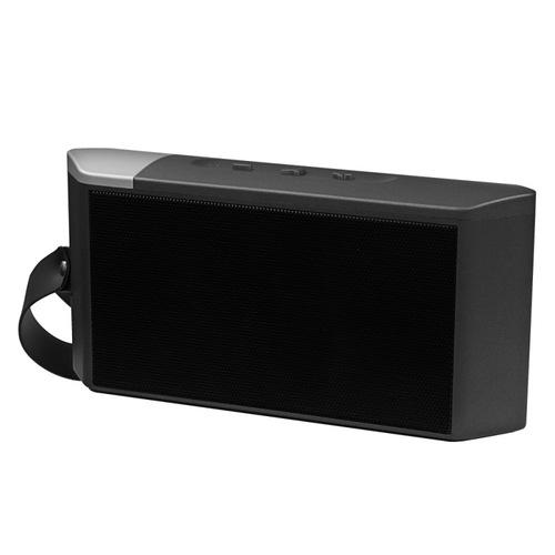 Колонка Ginzzu Bluetooth GM-873B 2х3W/1.2Ah/USB/TF/AUX/FM Black