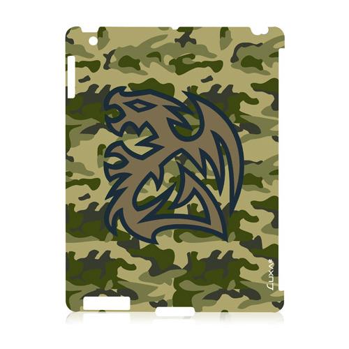 Накладка пластиковая Luxa2 iPad 2/3/4 Tough Battle Dragon Green