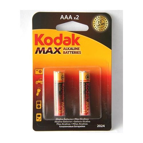 Батарея Kodak MAX LR03 AAA (блистер 2шт.)