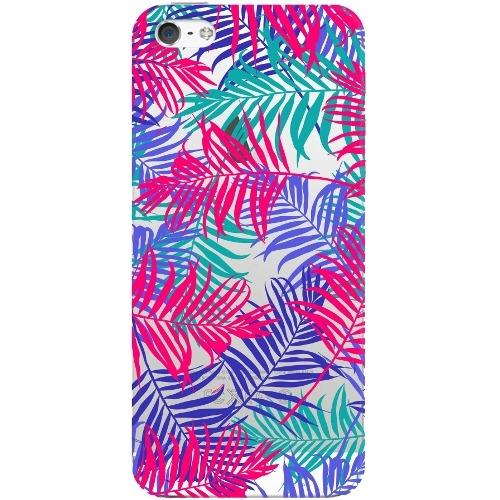 Накладка пластиковая Deppa Art Case iPhone 5/5S/SE Jungle Пальмы