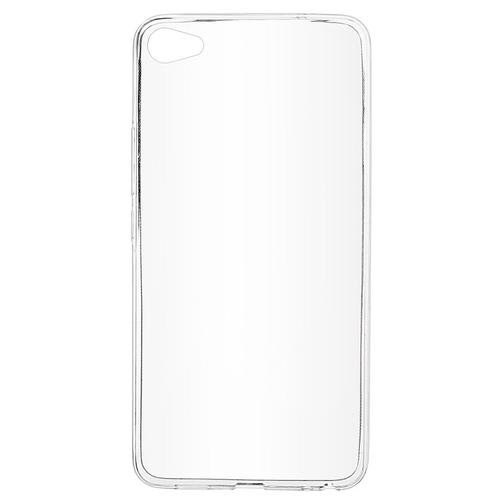 Накладка силиконовая skinBox slim Meizu U20 Clear