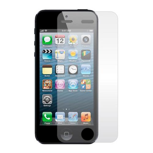 Защитное стекло на iPhone 5/5S, Ainy,  Crystal 0.33mm