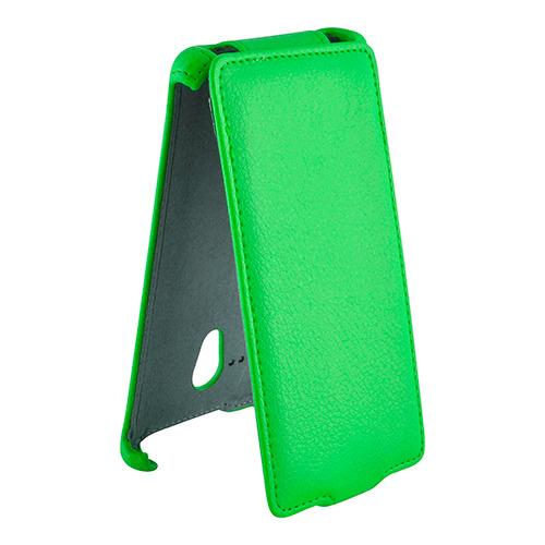 Чехол-флип для Sony Xperia ZL C6503, Armor, зеленый
