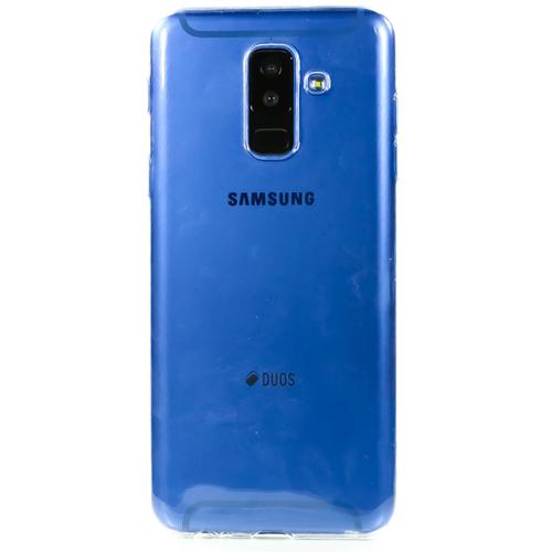 Накладка силиконовая Goodcom Samsung Galaxy A6 Plus (2018) White фото