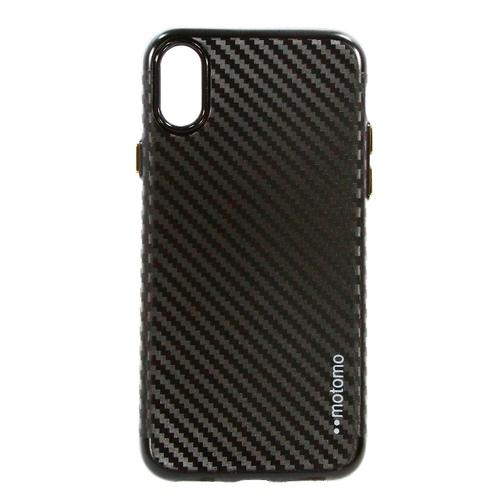 Накладка силиконовая Vorson Iphone X Carbon Black