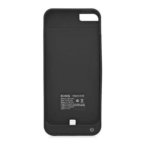 Накладка-аккумулятор Exeq iPhone 5 HelpinG-iC05 2300mAh Black