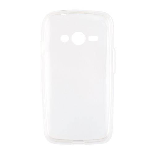 Накладка силиконовая Goodcom Ultra slim на Samsung Galaxy Ace 4 White