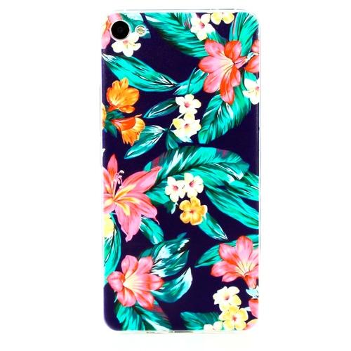 Накладка силиконовая Goodcase Meizu U20 Букет цветов