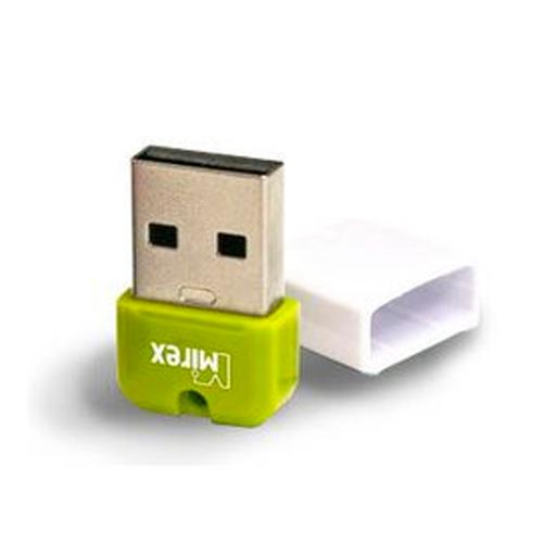 USB флешка Mirex ARTON (8Gb) Green/White