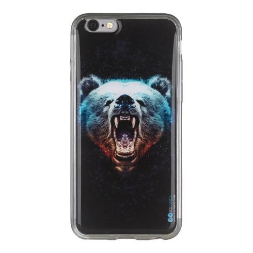 Накладка силиконовая IceTwice iPhone 6/6S Медведь №1024