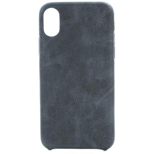 Накладка кожаная uBear Rouge Case iPhone X Black