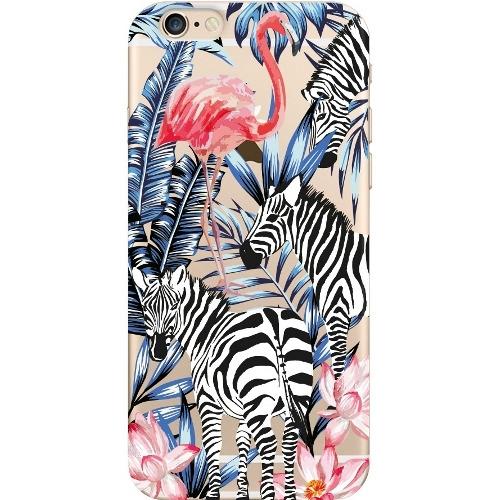 Накладка пластиковая Deppa Art Case iPhone 6/6S Jungle Зебры