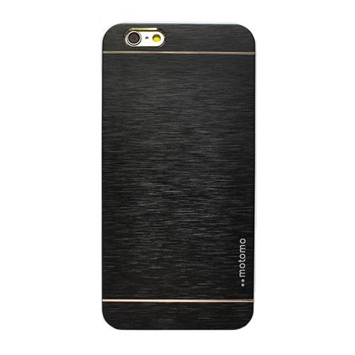 Накладка пластиковая Motomo iPhone 6 Plus Metall Black