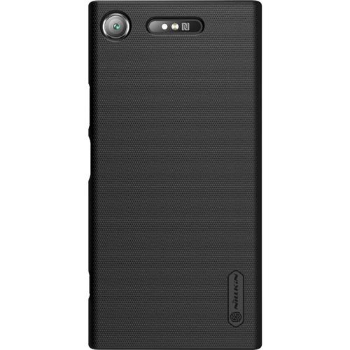 Накладка пластиковая NILLKIN Super Frosted Shield Sony Xperia XZ1 Black