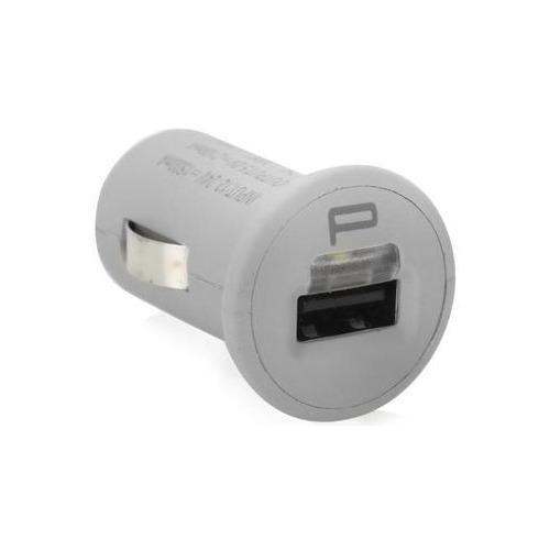 Автомобильное зарядное устройство на USB Pockets Spechr-011 2100 mAh White