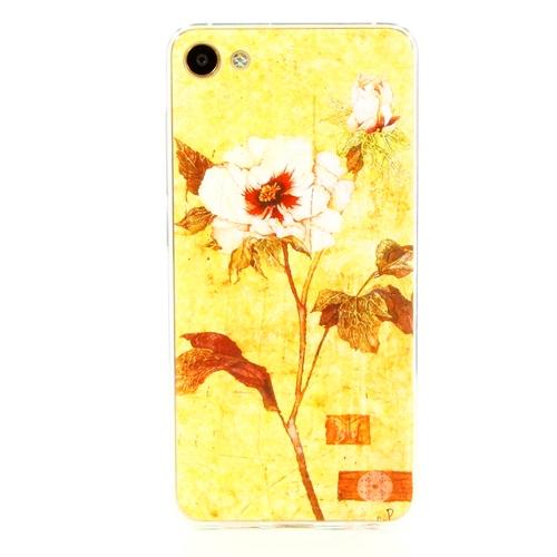Накладка силиконовая Goodcase Meizu U10 Роза
