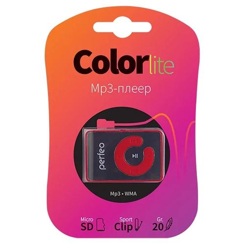 Плеер Mp3 Perfeo Color Lite Red