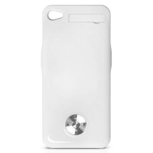 Накладка-аккумулятор DF iBattery-08 Slim iPhone 4/4S 1800mAh White