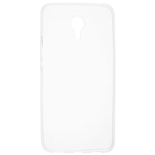 Накладка силиконовая skinBox slim Meizu M3 Note Clear